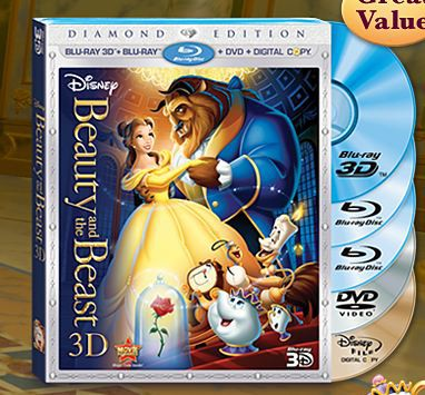 Printable Coupons and Deals – $5 off Beauty and The Beast Diamond Edition 5-Disc Blu-ray Combo Pack